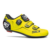 Image of Sidi Alba Road Shoes - Yellow Fluo/Black - EU 41.5 - Yellow Fluo/Black