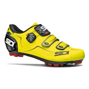 Image of Sidi Trace MTB Shoes - Yellow Fluo/Black - EU 38 - Yellow Fluo/Black