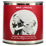 Wax Lyrical Enter-tin-ment Naughty List Wax Filled Candle