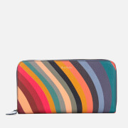 Paul Smith Women's Large Zip Around Purse - Multi