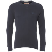 Tokyo Laundry Men's Pine Ridge Long Sleeve Top - Navy