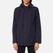 GANT Women's Soft Shell Parka Jacket - Evening Blue