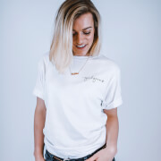 Girl Gains #GirlGains T-Shirt - White