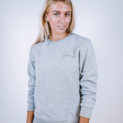 Girl Gains #GirlGains Sweatshirt - Grey