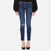 J Brand Women's 811 Mid Rise Skinny Jeans - Swift Destruct