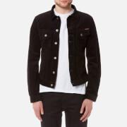 Nudie Jeans Men's Billy Cord Jacket - Black - L - Black