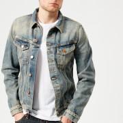 Nudie Jeans Men's Billy Denim Jacket - Shimmering Indigo - M - Blue