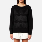 Marc Jacobs Women's Classic Easy Fit Sweatshirt - Black - M - Black