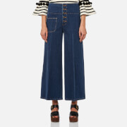 Marc Jacobs Women's Wide Leg Jeans - Indigo - W26 - Blue