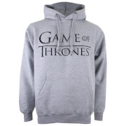 Sweat à Capuche Homme Logo Game of Thrones - Gris