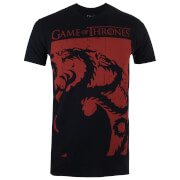 T-Shirt Homme Game of Thrones Targaryen Sigil - Noir