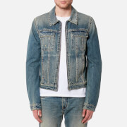 Helmut Lang Men's Reversible 87 Jacket - Tinted Wash - M - Blue