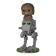 Star Wars Chewbacca in AT-ST Pop Deluxe Vinyl Figur