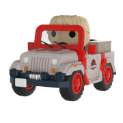 Figurine Pop! Ride Jeep Jurassic Park
