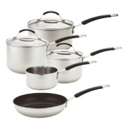 Meyer Stainless Steel 5 Piece Induction Pan Set