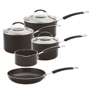 Meyer Non Stick 5 Piece Non Stick Induction Pan Set
