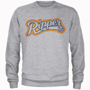 Image of How Ridiculous Ripper Sweatshirt - Sports Grey - S - Grey