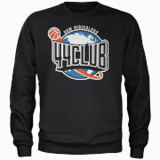 How Ridiculous 44 Club Basketball Black Sweatshirt