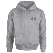 Image of How Ridiculous 44 Club Zipped Hoody - Sports Grey - L - Grey