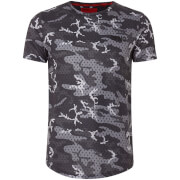 DFND Men's Mesh Camo T-Shirt - Grey