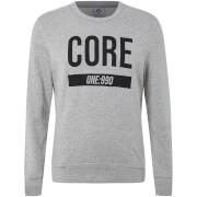Jack & Jones Core Men's May Crew Neck Sweatshirt - Light Grey Marl