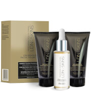 LDN : SKINS Spring Golden Glow Facial Collection (Worth £65.00)