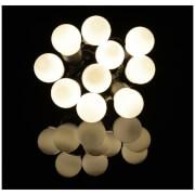 Lyyt 10 Bauble Indoor Festoon LED Lights - Warm White