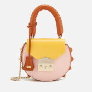 SALAR Women's Mimi Mini Multi Cross Body Bag - Melon/Sun/Pink
