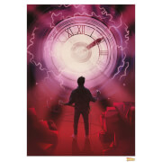Back to the Future Time Limited Edition Art Print