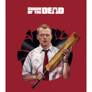 Affiche Édition Limitée Record Breaking - Shaun of the Dead