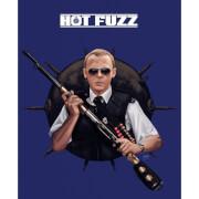 Affiche Édition Limitée Record Breaking - Hot Fuzz