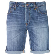 Jack & Jones Men's Originals Rick Originals722 LID Denim Shorts - Light Wash