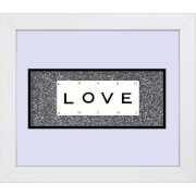 Cadre Love - Playing Card Co (30 cm x 25 cm)