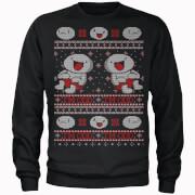 Odd1sOut I'm Odd Festive Black Sweatshirt