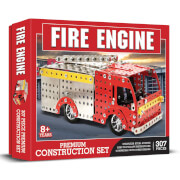 Fire Engine Premium Construction Set