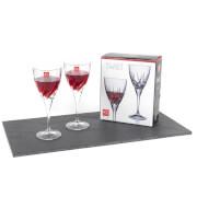 RCR Twist Wine Glasses (Set of 2)