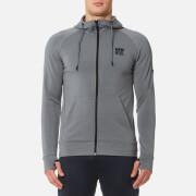 Superdry Sport Men's Gym Training Zip Hoody - Light Grey