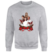 Star Wars Jedi Carols Grey Christmas Sweatshirt