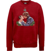 Star Wars Mistletoe Kiss Red Christmas Sweatshirt