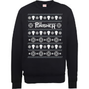 Sweat Homme/Femme The Punisher - Marvel - Noir