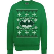 DC Comics Batman Logo Kersttrui - Groen