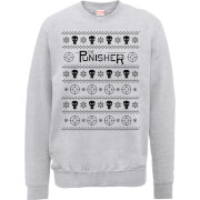 Marvel The Punisher Grey Christmas Sweatshirt