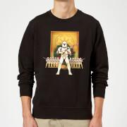 Star Wars Candy Cane Stormtroopers Black Christmas Sweatshirt