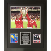 Image of Cole/Yorke Dual Signed and Framed 16 x 12 Image
