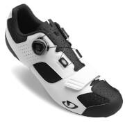 Giro Trans Boa Road Cycling Shoes - White/Black - EU 47/UK 12 - White