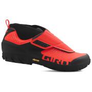 Giro Terraduro Mid MTB Cycling Shoes - Vermillion/Black