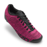 Giro Empire E70 Knit Women's Road Cycling Shoes - Berry/Bright Pink - EU 37/UK 4 - Rot