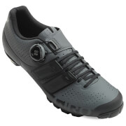 Giro Techlace MTB Cycling Shoes – Dark Shadow/Black – EU 43/UK 8.5 – Black