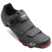 Giro Privateer R MTB Cycling Shoes - Dark Shadow/Dark Red