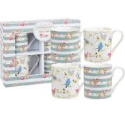 Julie Dodsworth Time to Nest 4 Piece Mug Gift Set